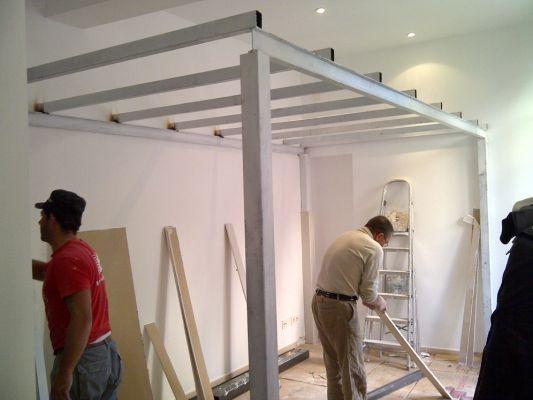 Presupuesto para construir altillo para apartamento en - Montadores de pladur en madrid ...