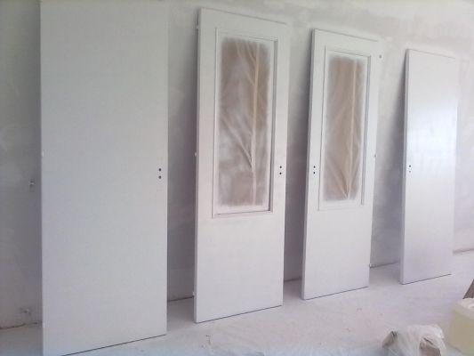 Presupuesto para pintar las puertas de madera de blanco en for Pintar puertas de blanco en casa