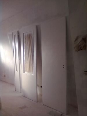 Presupuesto para pintar las puertas de madera de blanco en - Como pintar puertas en blanco ...