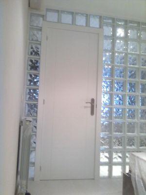 Ladrillo de vidrio ladrillo de vidrio habitacin decorado neutro fachada de bloques de vidrio - Ladrillos de cristal ...