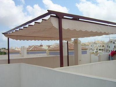Presupuesto para toldos horizontales para terraza en for Toldo lateral para terraza