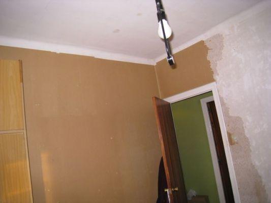 Presupuesto para pintar habitaci n techo y paredes y - Quitar papel pared ...