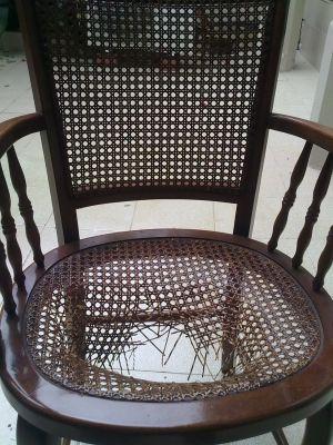 Presupuesto para reparar tapizar silla de mimbre en - Presupuesto tapizar sillas ...