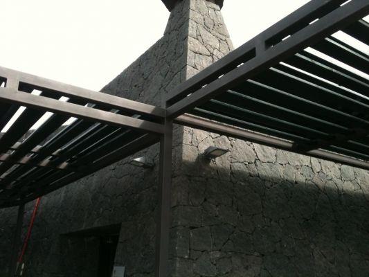 Presupuesto para pergola estructura de metal en el coto guadalajara - Estructura de metal ...