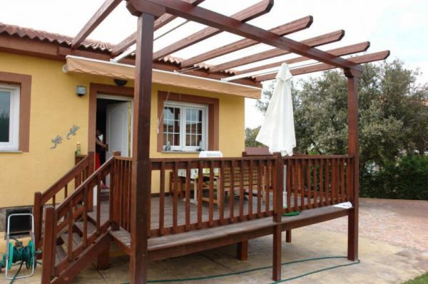Presupuesto para renovar terraza con madera ipe en for Cobertizos madera economicos