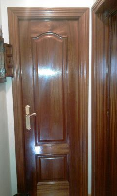 Presupuesto para pintar puertas interiores de sapely a for Pintar puertas