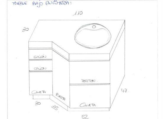 Presupuesto para pintar mueble de ba o de madera lacado de - Pintar mueble bano ...