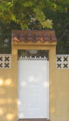Presupuesto para tejadillo puerta exterior en san vicente del raspeig alicante - Tejadillo para puerta ...