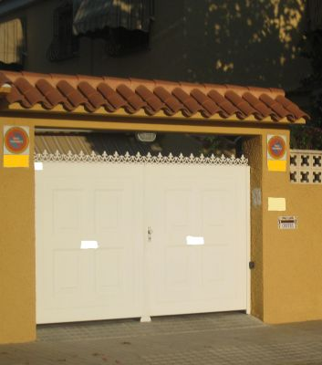 Presupuesto para tejadillo puerta exterior en san vicente - Tejadillo para puerta ...