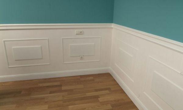 Presupuesto para instalar zocalo en la pared en - Frisos decorativos para paredes ...