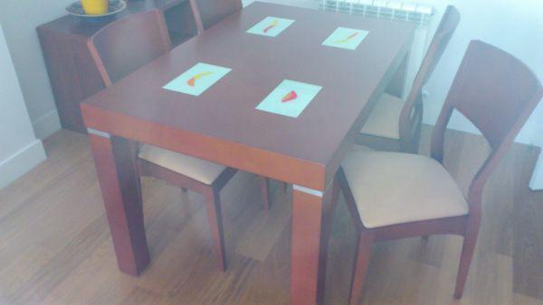 Presupuesto para lacar mesa de comedor y 6 sillas en - Lacar una mesa ...