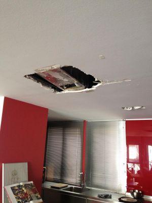 Trabajos realizados por reformas syn - Tapar agujero techo ...