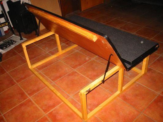Hacer una cama abatible cama abatible hacer bricolaje es - Construir cama abatible ...