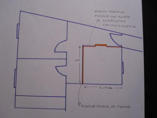 Presupuesto para nuevo dormitorio pladur puerta - Estanterias pladur precio ...