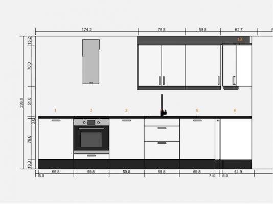 Presupuesto para montaje de cocina ikea en alcal de for Montar muebles de cocina