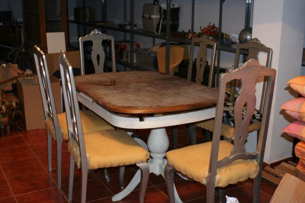 Presupuesto para me guastaria pintar o decapar de blanco y - Presupuesto tapizar sillas ...