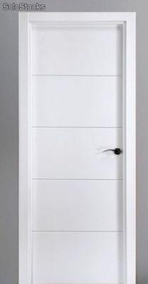 Puertas de madera blancas materiales de construcci n - Puertas lacadas blancas precios ...