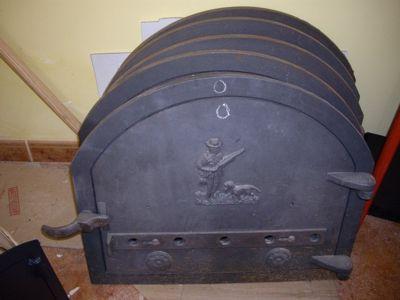 Presupuesto para puerta de hierro para horno de le a en for Como hacer un horno de lena de hierro