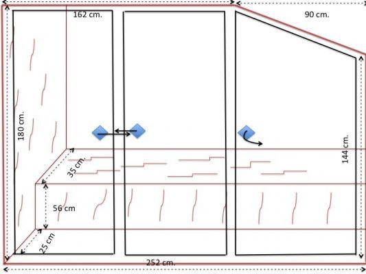 Presupuesto para armario para terraza exterior aluminio o for Armario para terraza exterior